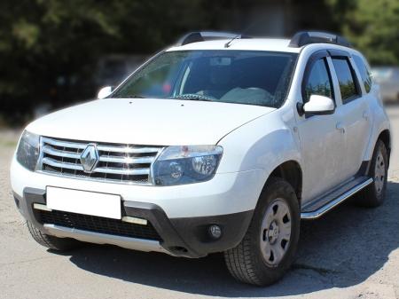 Renault Duster 2011-наст.вр.-Пороги с листом d-53